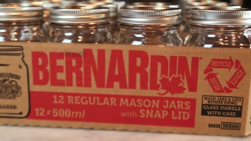 Bernardin Regular 500 ml Mason Jar - image 6 from the video