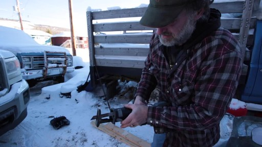 MAXIMUM 11A Reciprocating Saw - Jim's Testimonial - image 3 from the video