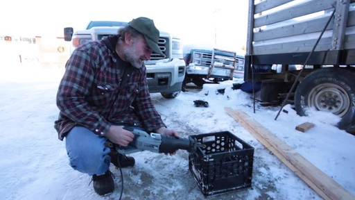 MAXIMUM 11A Reciprocating Saw - Jim's Testimonial - image 6 from the video