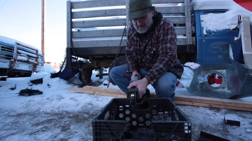 MAXIMUM 11A Reciprocating Saw - Jim's Testimonial - image 9 from the video