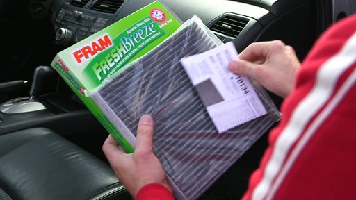 FRAM Fresh Breeze Cabin Air Filter - image 9 from the video