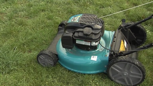 Yardworks High Wheel Push Mower - Chris' Testimonial - image 1 from the video