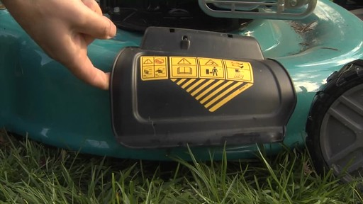 Yardworks High Wheel Push Mower - Chris' Testimonial - image 6 from the video
