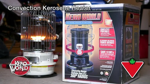 Kero-World Convection Kerosene Heater - image 1 from the video
