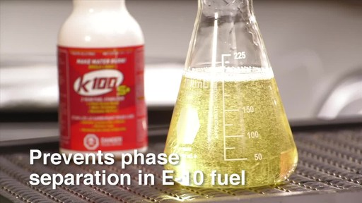 K100 S  2 Year Gas & Fuel Stabilizer - image 5 from the video