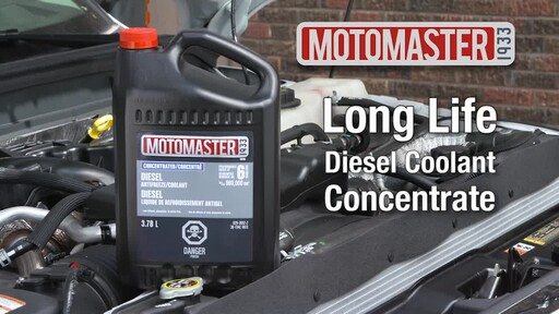 MotoMaster Extended Life Diesel Antifreeze/Coolant - image 10 from the video
