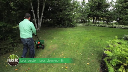 Using a Lawn Spreader with Frankie Flowers - image 7 from the video