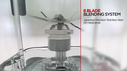 Salton Harley Pasternak Professional Grade Power Blender - image 5 from the video