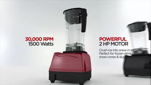 Salton Harley Pasternak Professional Grade Power Blender - image 6 from the video