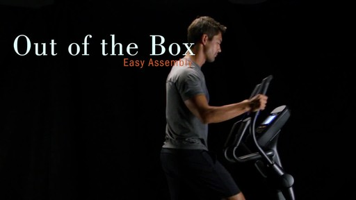 Nordic Track Spacesaver SE 7I Elliptical Flywheel Trainer - image 9 from the video
