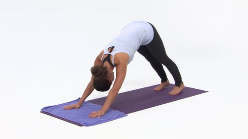 Gaiam Yoga Hand Towel - image 4 from the video