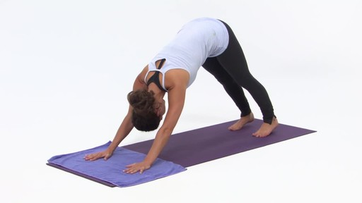Gaiam Yoga Hand Towel - image 5 from the video