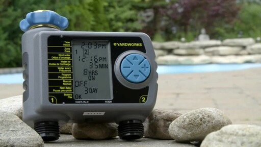 Yardworks 2 Zone Water Timer - image 2 from the video