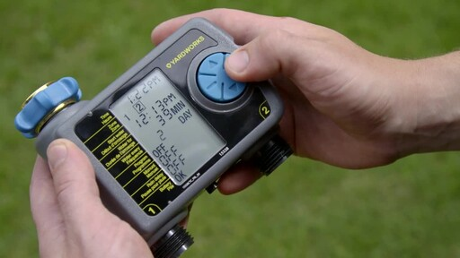Yardworks 2 Zone Water Timer - image 6 from the video