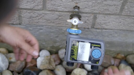 Yardworks 2 Zone Water Timer - image 7 from the video