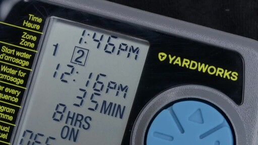 Yardworks 2 Zone Water Timer - image 9 from the video