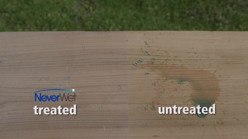 Never Wet Multi-Surface Liquid Repelling Treatment - image 7 from the video