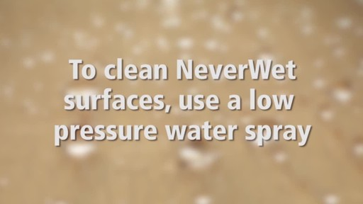 Never Wet Multi-Surface Liquid Repelling Treatment - image 9 from the video