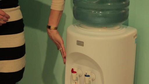 Aquverse Water Cooler - Kristine's Testimonial - image 10 from the video