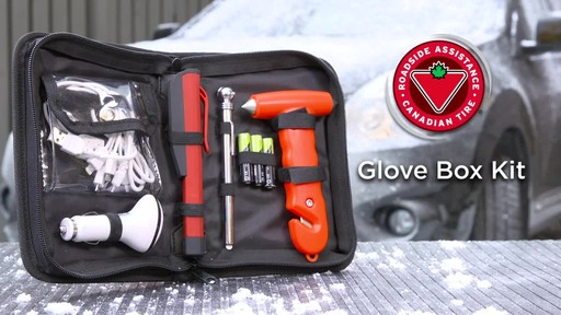Canadian Tire Roadside Assistance Glove Box Kit - image 10 from the video