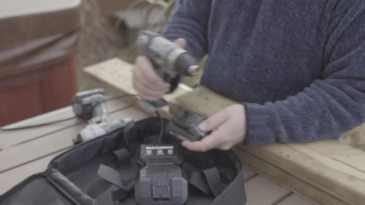 MAXIMUM 12V Max Drill & Driver - Troy's Testimonial - image 4 from the video