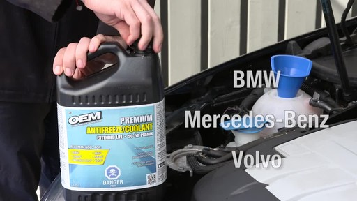 OEM XL European Premix Coolant, 3.78L - image 3 from the video