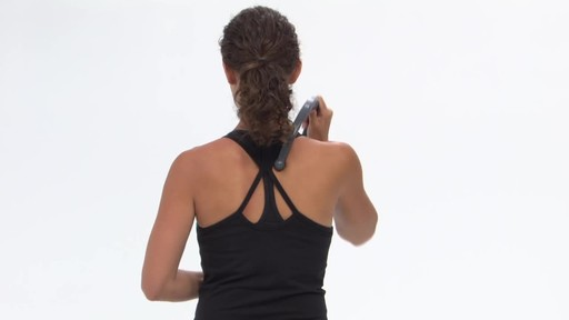 Gaiam Restore Pinpoint Back Massager - image 4 from the video