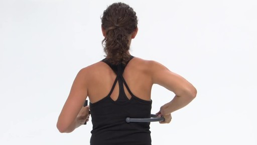Gaiam Restore Pinpoint Back Massager - image 6 from the video