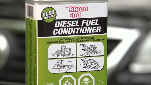 Kleen-Flo Diesel Fuel Conditioner - image 7 from the video