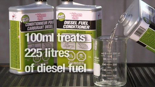 Kleen-Flo Diesel Fuel Conditioner - image 8 from the video