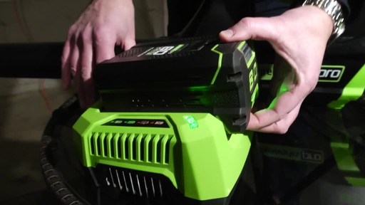 Greenworks 80V Leaf Blower - Tony's Testimonial - image 2 from the video