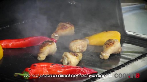 Cookina Reusable BBQ Cooking Sheet - image 1 from the video