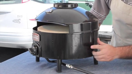 Pizzacraft PizzaQue Propane Pizza Oven- Assembly - image 10 from the video