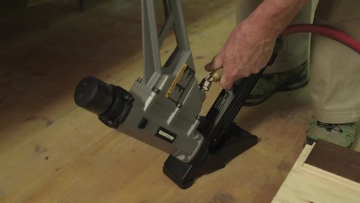MAXIMUM Flooring Nailer - Graham's Testimonial - image 5 from the video