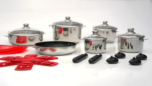Lagostina Grande Cucina 24 Piece Cookware Set 187 Kitchen