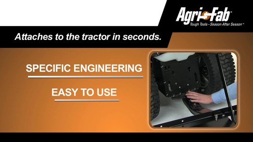 Agri Fab 48-in Plug Two Aerator - image 10 from the video