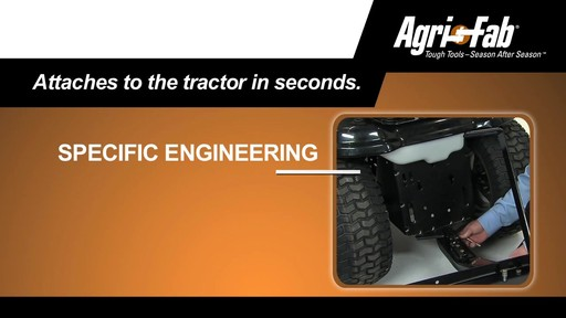 Agri Fab 48-in Plug Two Aerator - image 9 from the video