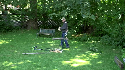 Greenworks 40V Cordless Chainsaw - Testimonial - image 1 from the video