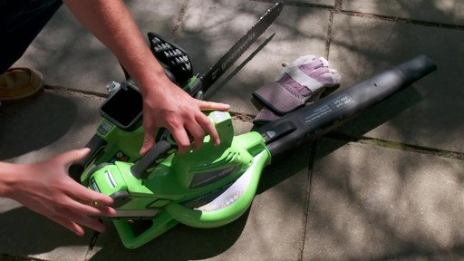 Greenworks 40V Cordless Chainsaw - Testimonial - image 5 from the video