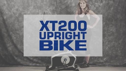 Xterra XT200U Upright Bike - image 1 from the video