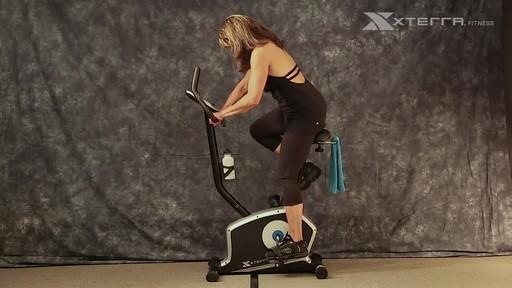 Xterra XT200U Upright Bike - image 2 from the video