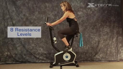 Xterra XT200U Upright Bike - image 5 from the video