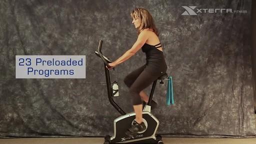 Xterra XT200U Upright Bike - image 7 from the video