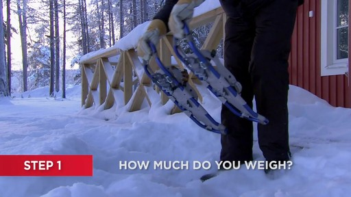 How to Choose Snowshoes - image 1 from the video