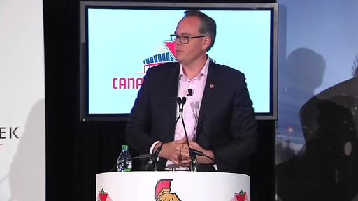 Introducing the Canadian Tire Centre, Home of the Ottawa Senators  - image 6 from the video