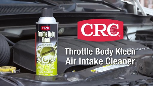 CRC Throttle Body Cleaner - image 1 from the video