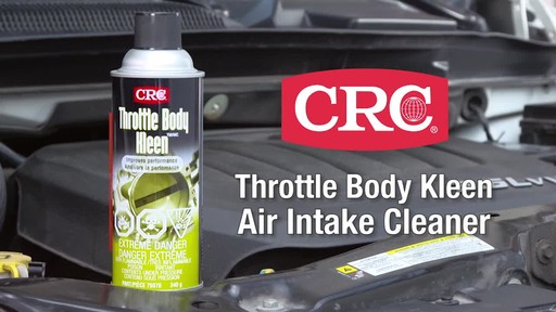 CRC Throttle Body Cleaner - image 2 from the video