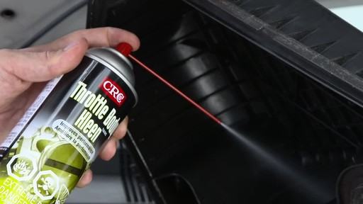 CRC Throttle Body Cleaner - image 4 from the video