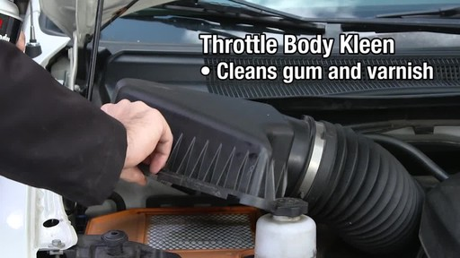 CRC Throttle Body Cleaner - image 6 from the video