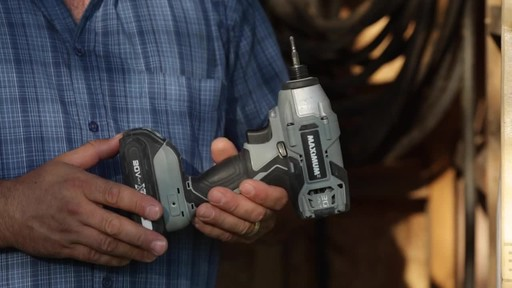MAXIMUM 20V Max Impact Driver - Don's Testimonial - image 10 from the video